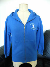 NEWCASTLE DANCE CENTRE BLUE GIRLS HOODY TOP AGE 9-11 YEARS CHERYL