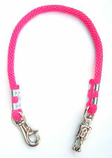 """Pink Derby Rope Horse Trailer Tie 32"""" New Horse Tack Equine"""