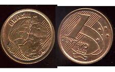 BRESIL  1 centavo 2002  ( bis )