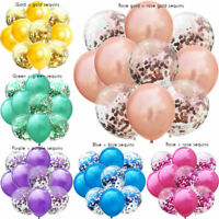 10pcs 12 inch Colorful Pearl Latex Balloons Helium Wedding Birthday Party Decor