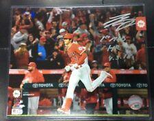 TOPPS SHOHEI OHTANI RC Photo 8X10 Auto 1st MLB HR 4/3/ Inscription Autograph COA