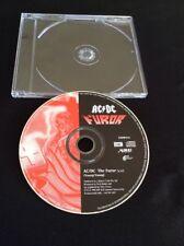 AC/DC FUROR CD MEGGA RARE AUSSIE PROMO ALBERT PRODUCTIONS CDRP414 EMI AUSTRALIA
