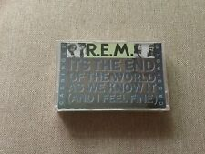 "R.E.M. ""Its The End Of The World As We Know It"" 1987 Rare Cassette Single Sealed"
