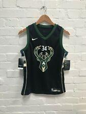 Milwaukee Bucks Nike NBA Kid's Basketball Jersey - 10-12 Years Antetokounmpo New