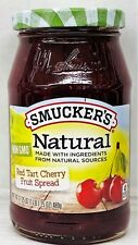 Smucker's Natural Red Tart Cherry Fruit Spread 17.25 oz Smuckers