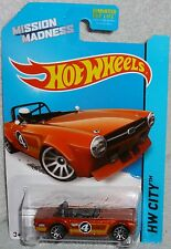 HOT WHEELS Mission Madness Triumph TR6 Kroger Exclusive Scavenger Hunt Treasure