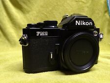 Nikon FM2n Black Camera Body + Cap - EXCELLENT, SUPER CLEAN!!!