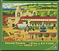 PUZZLE, HOME TOWN COLLECTION, HARVEST AT THE MISSION, 1000 PIECES, (UNOPENED)