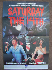 saturday the 14th (1981) uk video shop film poster
