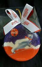 Coca Cola Coke Bottle Cap Polar Bear Chrismas Ornament 1995