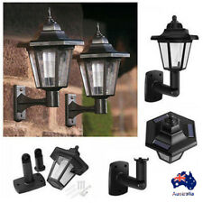 AU Wall Mounted Solar Power LED Outdoor Garden Landscape Yard Light Lamp Lantern