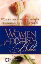Women of Destiny Bible: Women Mentoring Women Through the Scriptures [New King J