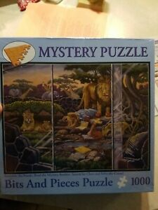 Mystery Puzzle Bits And Pieces 1000 Murder At Animal Park SEALED