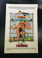 1979 MeatBalls 27 x 41 Original Movie Poster Bill Murray