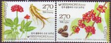Korea - SC 2379 Ginseng and Coffee (Joint issued Colombia) 2v 2012