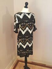 BNWT TUTTO ESAURITO LTD EDT Warehouse ASOS Mano Impreziosito Aztec Party Dress RRP £ 250