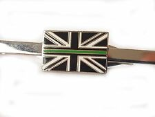 Thin Green Line Ambulance Service Tie Clip