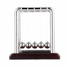 Newton's Cradle Steel Balance Ball Physics Science Fun Desk Toy Accessory