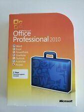 New Microsoft Office 2010 Professional DVD 32 & 64 Bit 100% Authentic