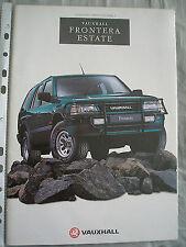 Vauxhall Frontera Estate brochure 1994 Models ed 2