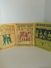 Butch Cassidy & The Wild Bunch Wanted Poster Reprint and 2 other posters