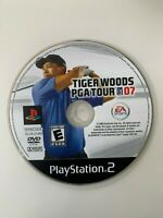Tiger Woods PGA Tour 2007 (PS2 Playstation 2) WORKS / NO TRACKING / DISC ONLY
