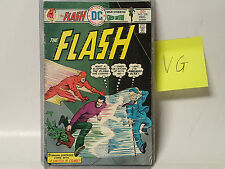 The Flash #238 Dc Comics 1975 Vg The Fastest Man Alive, Green Lantern Solo