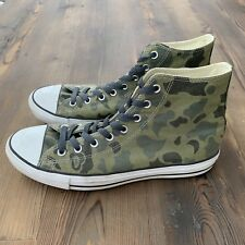 Rare Converse Chuck Taylor All Star High Camouflage 136596C Men's 11 / WO's 13