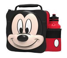 Disney 3D Mickey Mouse Sac Repas Isotherme / Boîte avec Bouteille