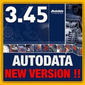 AUTODATA 3.45 ULTIMA VERSIONE BANCADATI AUTO