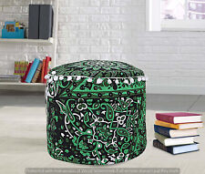 Mandala Pouf Ottoman Round Indian Pouffe Foot Stool Case Decor Floor Seat Cover