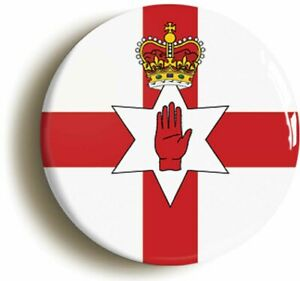 ULSTER NORTHERN IRELAND UNIONIST FLAG BADGE BUTTON PIN