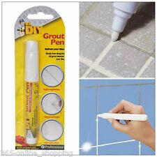 Blanco Boquilla Pen palo de Cocina Baño Ducha Azulejo batida Limpia Azulejos antimould