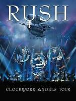RUSH: Clockwork Angels Tour (DVD, 2013, 2-Disc Set) New / Factory Sealed