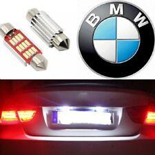 LUCI TARGA LED BMW SERIE 3 E46 E90 E91 E92 SERIE 6 E63 E64 CANBUS 6000K NO ERROR