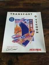 Transport Tycoon, PC Big Box, Micro Prose, Complete, Collectors - VGC Floppy Dsk