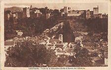 Br33314 Granada Vista de la Alahambra desde el Barrio del Albaicin spain
