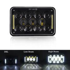 "1PC 4""x6"" LED CREE Light Bulb Clear Sealed Beam H4 Headlight Headlamp Halo DRL"
