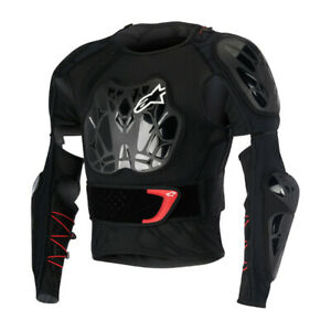 Alpinestars Bionic Tech BNS Protection Jacket - Black White Red WAS £249.99