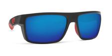 Costa Del Mar MOTU Race Black Blue Mirror Sunglasses 580g Glass MTU 197 OBMGLP
