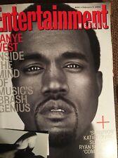 EW Entertainment Weekly 2006 Kanye West Katie Couric Ryan Seacrest Geena Davis