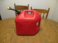 Pre Ban Blitz 5 Gallon Gas Can Self Venting Fast Pouring Spout And Cap