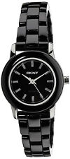 DKNY NY8296 Black Dial Black Ceramic Bracelet Women's Watch