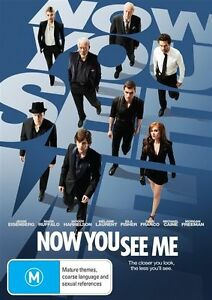 """Now You See Me (DVD) Region 4 """"NEW AND SEALED"""""""