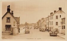 More details for postcard blackrock - co louth - animated scene - cars - rp - circa 1952
