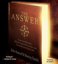 The Answer by John Assaraf & Murray Smith / NEW CD audio