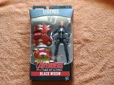 Marvel Avengers Age Of Ultron Black Widow Legends Series Hasbro