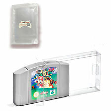 Clear Carts Case Sleeve Box for Nintendo N64 Cartridge CIB Protectors 10PCS