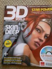 3D WORLD Nov 2007 Magazine 4D Cinema Animatics Heavenly Sword PS3's Poster Girl