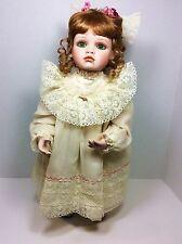 """Virginia Ehrlich Turner 1994 Doll  AMELIA  19"""" The Hamilton Collection Grn Eyes"""